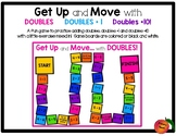 Get Up and Move with Doubles,  Doubles + 1 and Doubles +10
