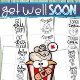 Get Well Soon Cards Writing Activity for Students