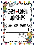 Get Well Soon Class Book Letter Writing Picture for sick s