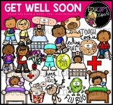 Get Well Soon Clip Art Bundle {Educlips Clipart}