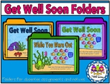 Get Well Soon Folders (for absentee work)