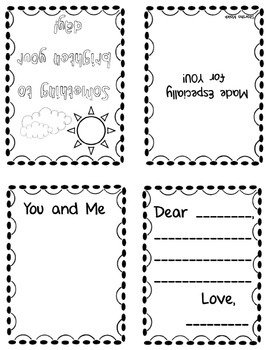 Get Well Student Foldable Cards