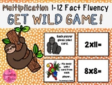 Get Wild - Multiplication Fact Fluency 1-12 Game