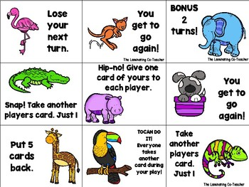 Get Wild - Subtraction Fact Fluency 1-12 Game #betterthanchocolate