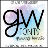 Get Wise Fonts: GROWING BUNDLE