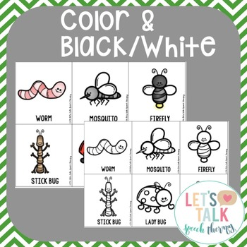 Get Your Bug On! Language Unit for Speech Therapy