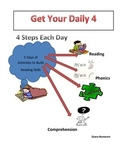 Get Your Daily 4, The Easy Way! Reading, Phonics, Fluency