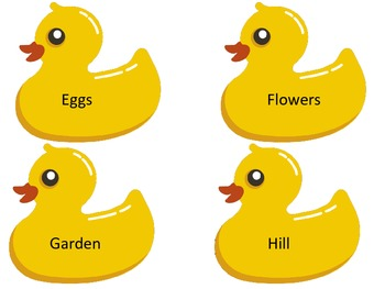 Get Your Ducks in a Row An Alphabetical Order Word Game