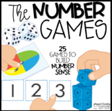 The NUMBER Games!  {25 Number Sense Games for K-1}