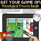 Get Your Game On! Football Phonological Process Boom Card
