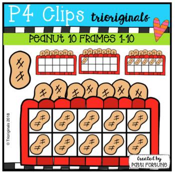 Get Your Peanuts Here 10 Frames (P4 Clips Trioriginals)