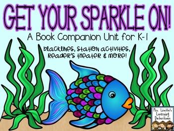 Get Your Sparkle On! {Rainbow Fish Literacy & Math}