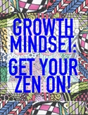 Growth Mindset Zen Art Activity - Motivation for Students to Get their Zen On!