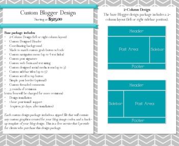 Get a Custom Blog Design by The 3AM Teacher