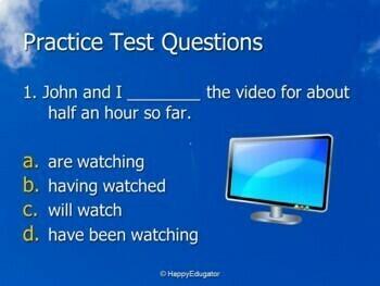 TEST PREP Get a High Score on the Test! ELA