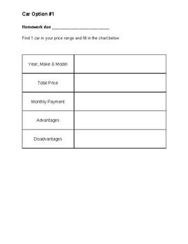 Get a Life Project {5th Grade Common Core Aligned}
