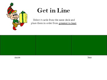 Get in Line-Christmas