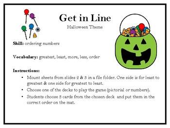 Get in Line-Halloween
