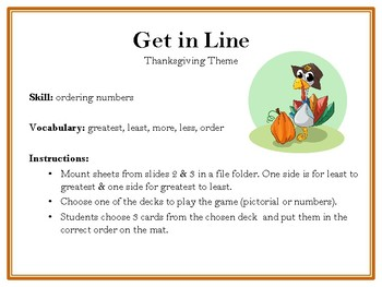 Get in Line-Thanksgiving