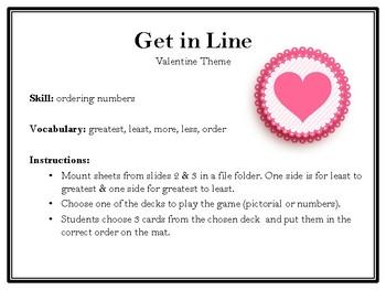 Get in Line-Valentine