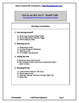 Get in on the Act I-III Complete Set of Video Worksheets