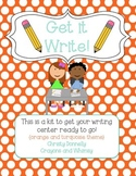 Get it Write - A Writing Center Start-Up Kit