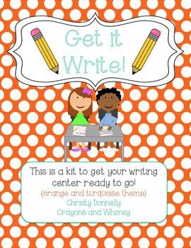 Get it Write - A Writing Center Start-Up Kit