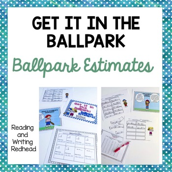 Get it in the Ballpark: Ballpark Estimate Practice