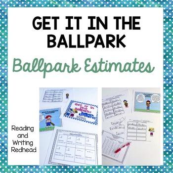 Get it in the Ballpark: Ballpark Estimate Practice