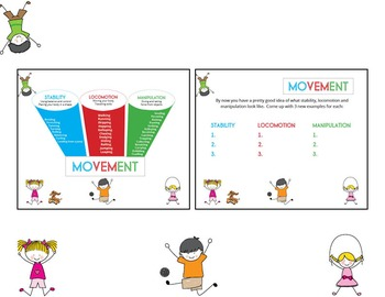 Get moving! Learning Movement Chart with Movement Charades Game