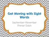 Get moving with sight words