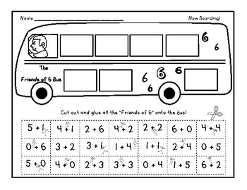 "Get on the Bus: ""Friends of"" Worksheet"