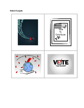 Get out the Vote! poster Project