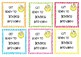 Get ready to bounce gift tags