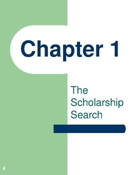 Get the Advantage! Scholarship Workbook