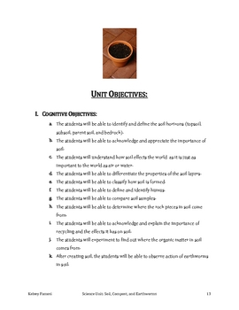 Get the Dirt on Dirt! Unit on Soil, Compost, and Earthworms!