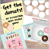 Get the Donuts Game {an Open Ended Activity for ANY Skill}