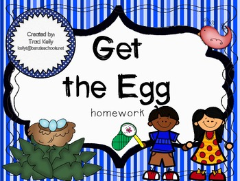 Get the Egg Homework - Scott Foresman