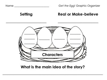 Get the Egg! Literacy Pack - First Grade Foresman Reading Street