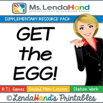 Reading Street, GET THE EGG!, Teacher Pack by Ms. Lendahand:)