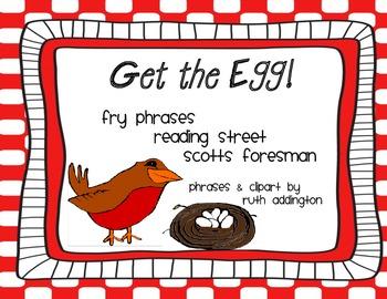 Get the Egg Reading Street Fry Phrases