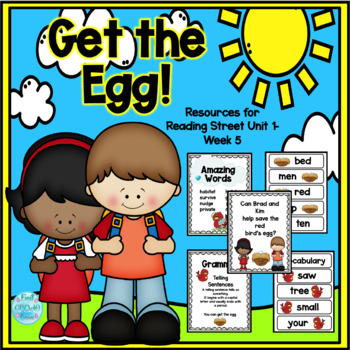 Get the Egg! Reading Street Resources