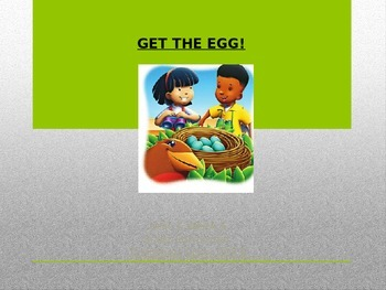 """""""Get the Egg!""""  (Weekly PowerPoint for Reading Street 2013)"""