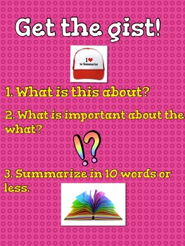 Get the Gist Anchor Chart