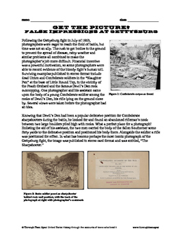 Get the Picture?: False Impressions at Gettysburg