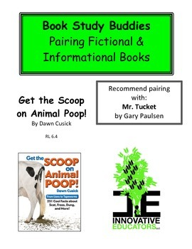 Get the Scoop on Animal Poop!-Pairing Fiction and Informational Books
