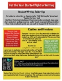 Get the Year Started Right in Writing
