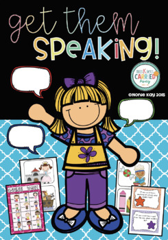 Get them Speaking! Oral Language Activities to Practice Speaking and Listening!
