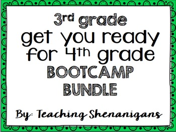 Get them ready!! Boot Camp! EDITABLE!