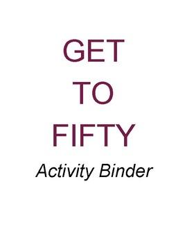 Get to Fifty - Math Enhancement Activity Book